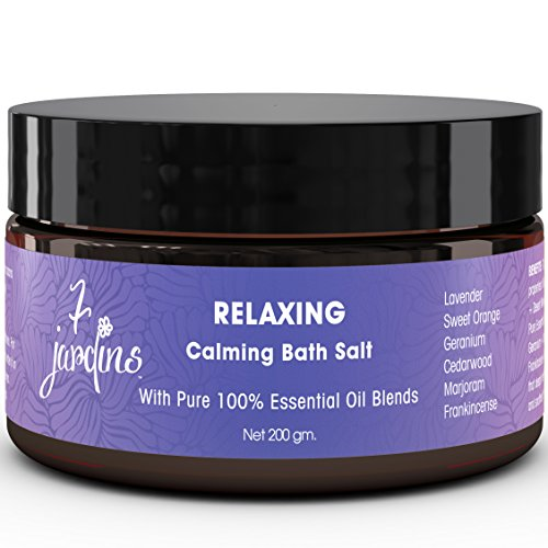 7 jardins relaxing calming bath salt with 100 natural for 7 jardins premium peppermint 100 pure natural therapeutic grade essential