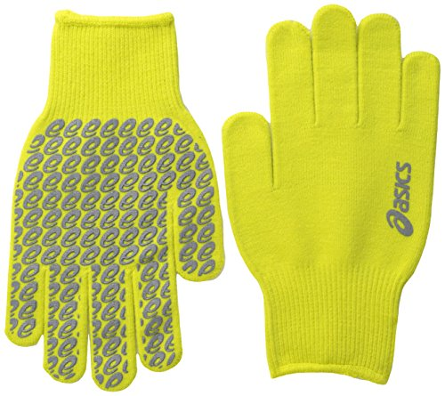 ASICS Everyday Liner Gloves, Electric Lime, Small/Medium