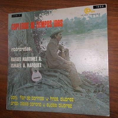 Copleros De Tiempos Idos Con Rafael Martinez e Ismael A. Marquez (Divensa / Vinyl)