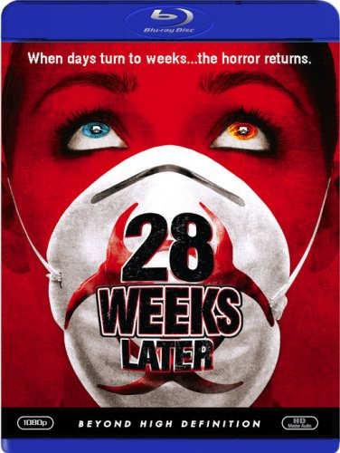 Cover art for  28 Weeks Later [Blu-ray]
