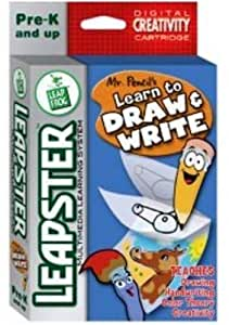dibujar y escribir (Learn to Draw and Write) Spanish Software: Toys