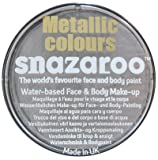 Snazaroo Professional Classic & Metallic Colour Face Paints (Metallic Silver)