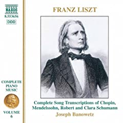 Liszt: Song Transcriptions (Liszt Complete Piano Music, Vol. 6)