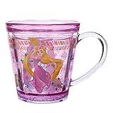 ディズニープリンセス ラプンツェル クリア マグカップ コップ Disney(ディズニー公式 プリンセス グッズ )
