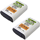 パナソニック (Panasonic) コードレスホン子機用充電池【KX-FAN51/HHR-T407 同等品】2個セット