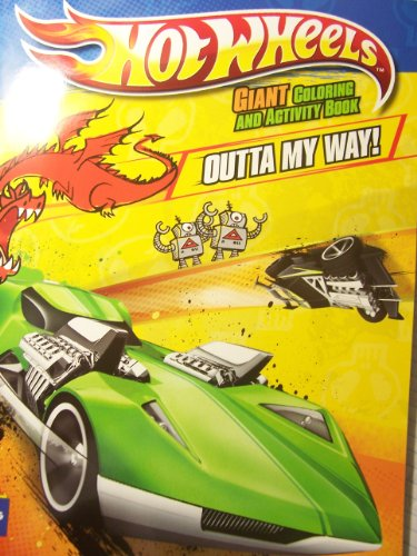 Hot Wheels Giant Coloring & Activity Book ~ Outta My Way! (Twin Mill III Cover) - 1