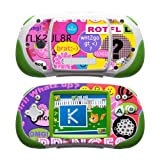 Princess Text Me Design Protective Decal Skin Sticker For LeapFrog Leapster Explorer Learning Tablet