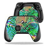 MightySkins Protective Vinyl Skin Decal for Valve Steam Controller case wrap Cover Sticker Skins Psychedelic (Color: Psychedelic, Tamaño: Valve Steam Controller)