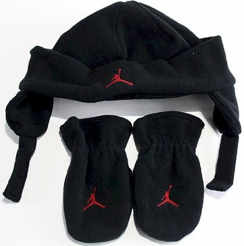 Nike Jordan Jumpman Toddler Boy's 2/4T Fleece Beanie Hat (Black)