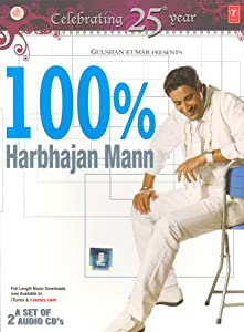 100 % Harbhajan Mann -(Audio CD/Hindi Songs/Indian Music/Foreign Music/Soundtrack)