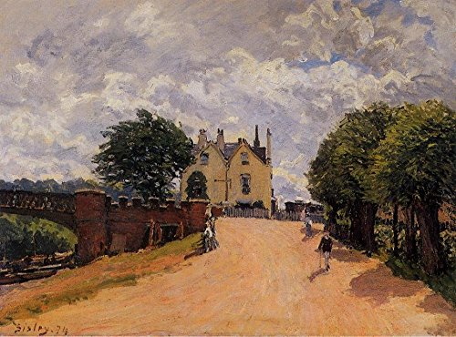 cutler-miles-inn-at-east-molesey-with-hampton-court-bridge-by-alfred-sisley-hand-painted-oil-on-canv