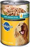 PEDIGREE CHOICE CUTS in Gravy With Chicken and Rice Canned Dog Food 22 Ounces (Pack of 12)