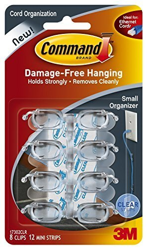 Cheapest Price! Command Small Cord Clips, Clear, 16-Clips