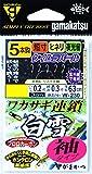 がまかつ(Gamakatsu) ワカサギ連鎖 白雪 袖 5本 W230 1.5-0.2.