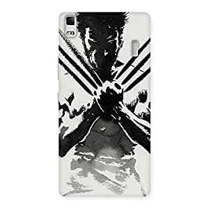Premium Ready Wolf Shade Back Case Cover for Lenovo K3 Note