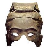 Terracotta Warrior Soldier Paper Mask