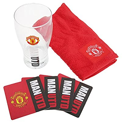 Official Manchester United FC Mini Bar Set