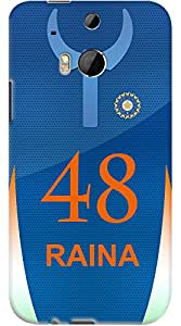 Kasemantra Raina Jersey Case For HTC One M8