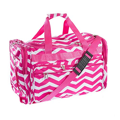 22-Travel-Duffle-Bag-Pink-White-Chevron