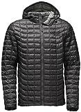 The North Face Thermoball Hoodie Jacket - Men's Asphalt Grey/Fusebox Grey Process Print Medium