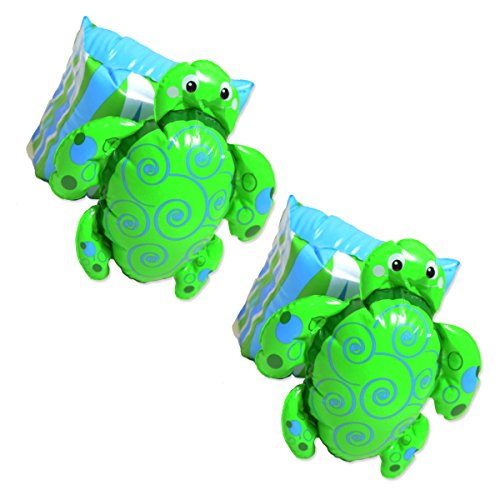 Swim Pal Turtle Arm Floats By Banzai Jr. - 1