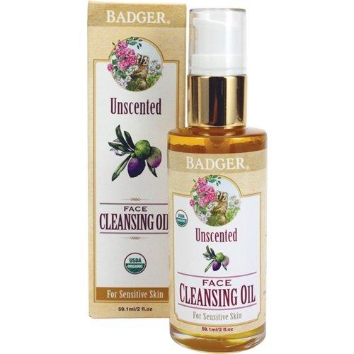 Badger - Face Cleansing Oil Unscented - 2 oz.