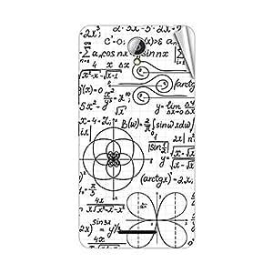 Garmor Designer Mobile Skin Sticker For Lenovo S1 - Mobile Sticker
