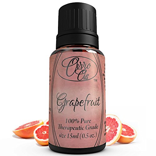 Grapefruit Oil By Ovvio Oils - 100% Pure Pink Grapefruit Essential Oil Accelerates Weight Loss and Helps Supplement Healthy Digestion - (Comparable to doTERRA Grapefruit, Young Living, Essential Oils, Healing Solutions, Sun Organic, Eden's Garden Now Wit