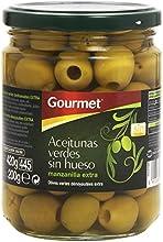 Gourmet Aceitunas Verdes sin Hueso, Manzanillas Extra - 200 g