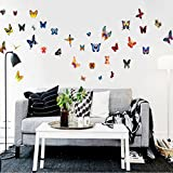 Wow Interiors Colorful Butterfly Wallsticker