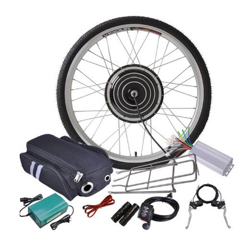 Read About 48v 1000w 26 Inch Front Wheel Electric Bicycle Motor Conversion Kit