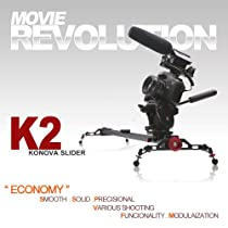 Konova Camera Slider Dolly K2 80cm (31.5 Inch)