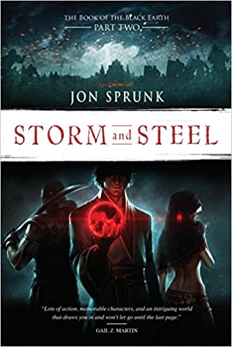 Storm and Steel (The Book of the Black Earth #2) GraphicAudio - Jon Sprunk