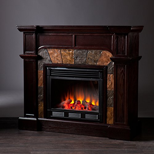 Electric Fireplace TV Stands Corner Heater Antique Firebox ...