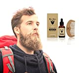 Beard-Conditioner-Oil-Softener-Fragrance-Free-Complete-Beard-Kit-with-Wooden-Beard-Comb-All-Natural-Vitamin-E-Jojoba-Blend-Mens-Facial-Hair-Care-Removes-Itching-Gives-Your-Beard-Its-Right
