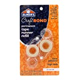 Elmers E4007 CraftBond Permanent Tape Runner Refills, .31-Inch by 26-1/4 Feet, Clear, 2 Refills per Pack