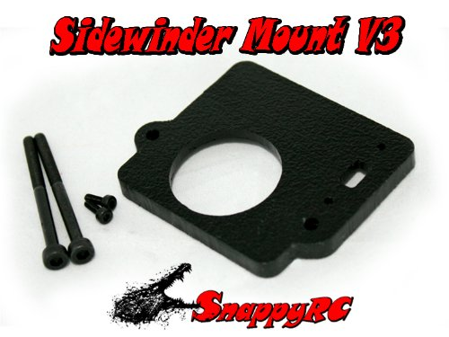 BLACK Snappy RC Castle Creations Sidewinder SV3 Mounting Kit