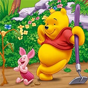 Jumbo - Winnie The Pooh 4 in a Box 4-6-9 and 16 Piece Jigsaw Puzzles
