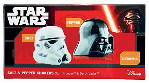 Star Wars Star Wars Darth Vader and Stormtrooper Salt and Pepper Shakers