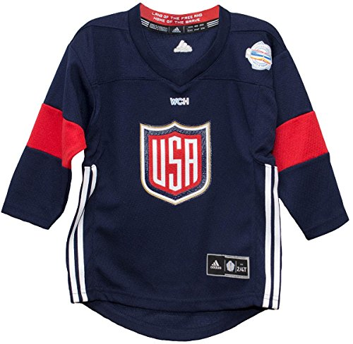 World Cup of Hockey 2016 Navy Toddler Printed Jersey (2T/4T)