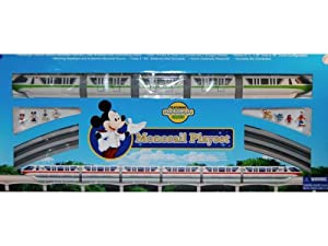 NEW Walt Disney World Deluxe Monorail Train Playset Toy Epcot Scale Model Train System