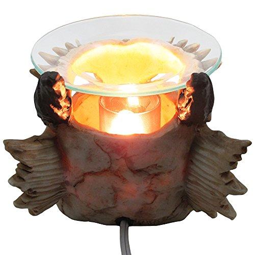 Snarling dragon skull electric oil warmer ideas for halloween costume - Dragon oil warmer ...