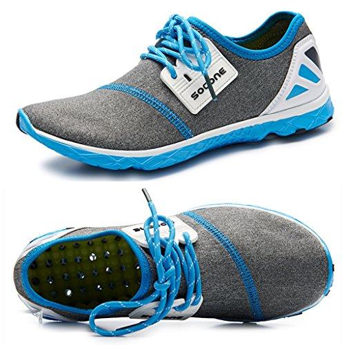 Aleader Men's Massage Running Shoes