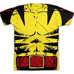 Buy Large X-Men Wolverine Costume T-Shirt L by Marvel