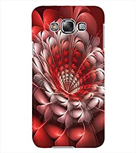 ColourCraft Beautiful Flower Design Back Case Cover for SAMSUNG GALAXY GRAND 3