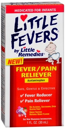 Little Fever's Fever/pain Reliever Infant Drop 1-ounce (Pack of 3)