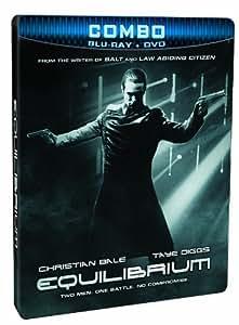 Equilibrium (SteelBook Edition) [Blu-ray + DVD]
