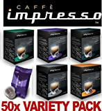 Kitchen - 50 x Caff� Impresso Nespresso Compatible Coffee Capsules Pods 5 x Great Blends