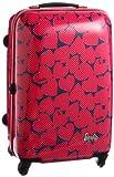 [バービー] Barbie バービー レトロポップハードスーツーケースII 55cm・43リットル・3.2kg・TSAダイヤル錠 05757 11 (ピンク)