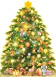 Christmas Tree 3D Advent Calendar, Du...